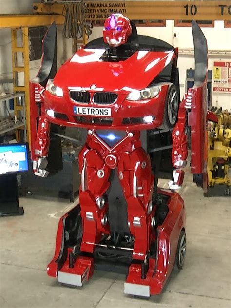 Transformer Auto transformer robot from a real car bmw earth chronicles news