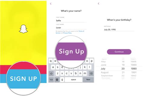 Search Snapchat By Email How To Sign Up And Get Started With Snapchat