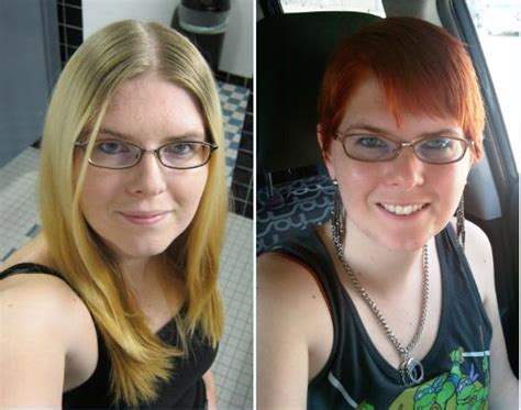 long hair to pixie cut before and after being me the pixie cut getting away with life