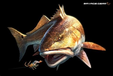 redfish tattoo redfish harvey artist and others well known artist