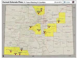 colorado fires 2012 map today news gazette