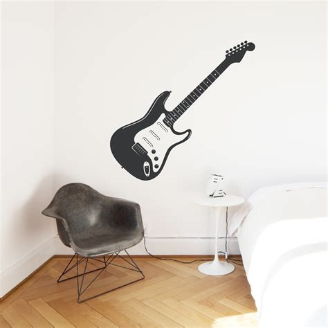 guitar wall stickers electric guitar wall decal
