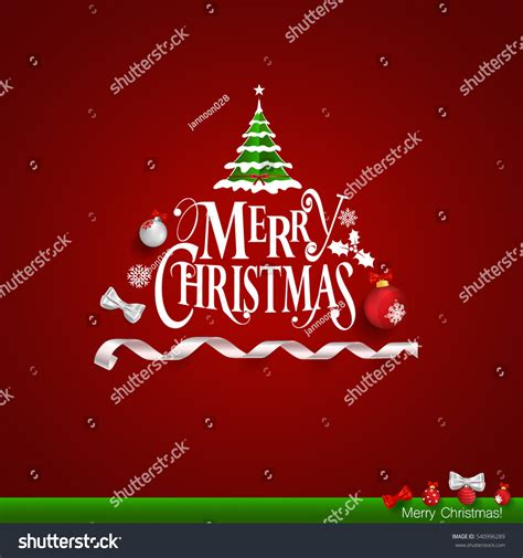 christmas cards shutterstock greeting card merry lettering stock vector 540996289