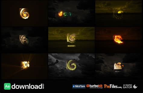 flower logo videohive free download free after 10 cinematic logos videohive project free download