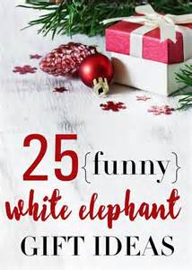 funny white elephant gift ideas for work christmas parties