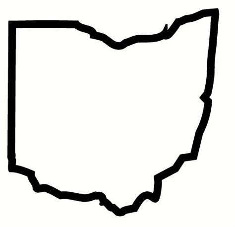 Outline Of Ohio Vector by The Gallery For Gt Ohio State Outline Vector
