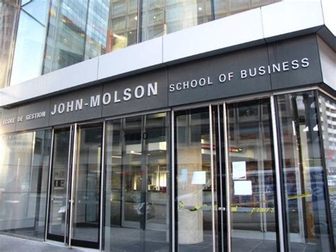 Concordia Mba Application Deadline by Molson School Of Business At Concordia