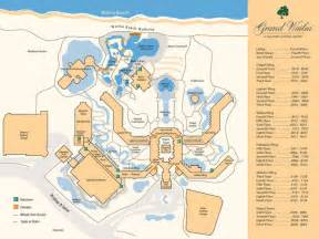 grand wailea resort map resorts and maps