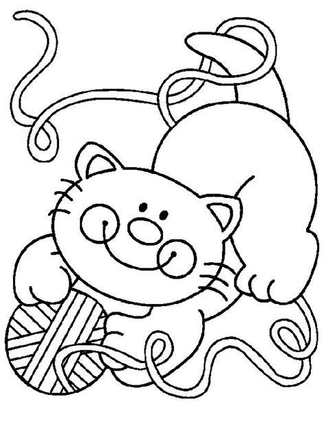 Desenhos de Gatos Para Imprimir e Colorir - Animais Para