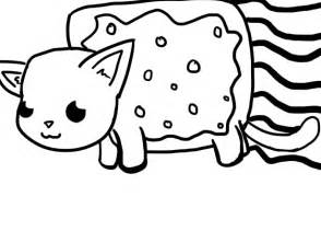 nyan cat coloring pages free nyan cat coloring pages