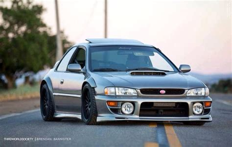 subaru gc8 widebody classic sti jdm subaru fine machinery pinterest