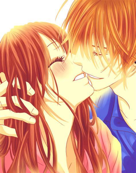anime couple wallpaper tumblr anime couples anime kiss kyou koi wo hajimemasu anime amor