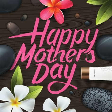 s day mp4 free happy mothers day spa therapy vector illustration
