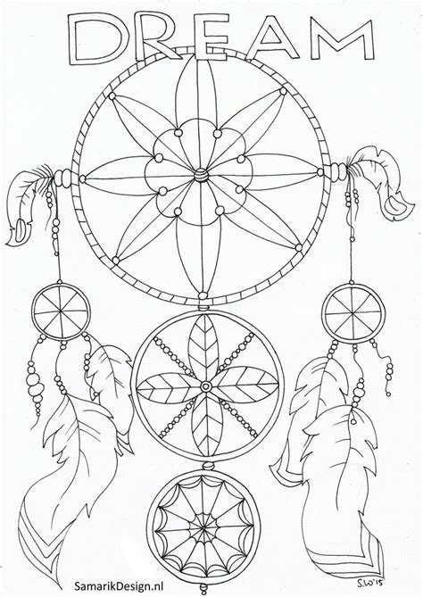 coloring pages for adults catcher 114 b 228 sta bilderna om dreamcatcher coloring pages for