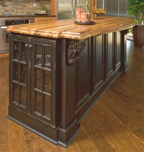 Finishing Kitchen Cabinets Vintage Onyx Distressed Finish Kitchen Cabinets