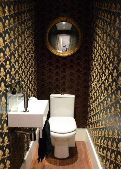 Wall Paper For Bathroom gallery beware the moon skulls wallpaper made in