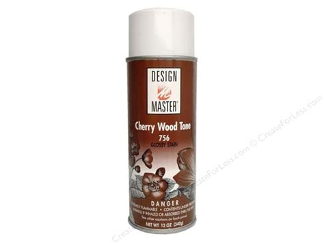 cherry wood color spray paint