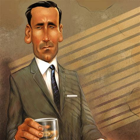 don drape don draper by tim foley illustration from