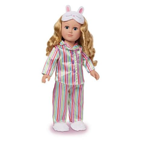 Sleepover Dolls my as 18 inch sleepover host doll caucasian with