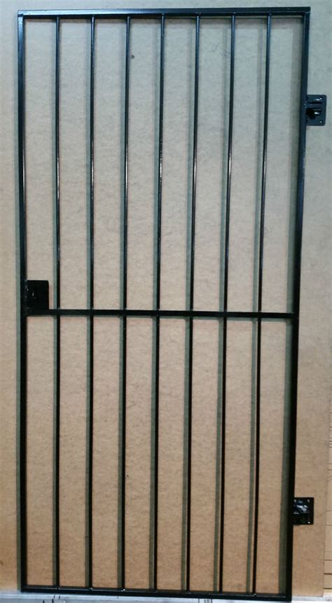 Metal Security Doors by Security Door Gate Metal Garden Side Gate Wrought Iron