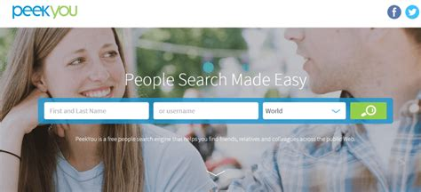 Peekyou Free Search 6 Search Engines You Can Use To Find Anyone