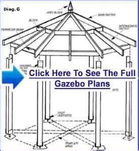 you build it plans gazebo building plans accurate plans for a gazebo project