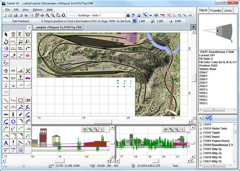 design layout software sandia software cadrail model railroad layout design