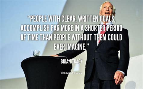 brian tracy quotes  goals quotesgram