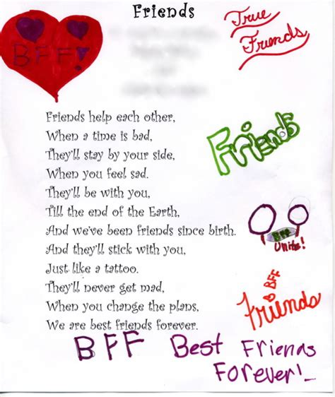 poems for your best friend mac s poems for bff