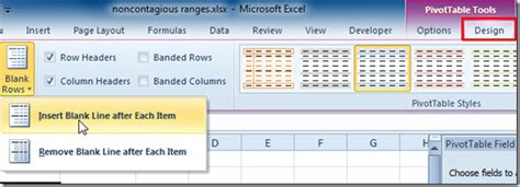 layout for report exle change pivot table report layout forms in excel 2010