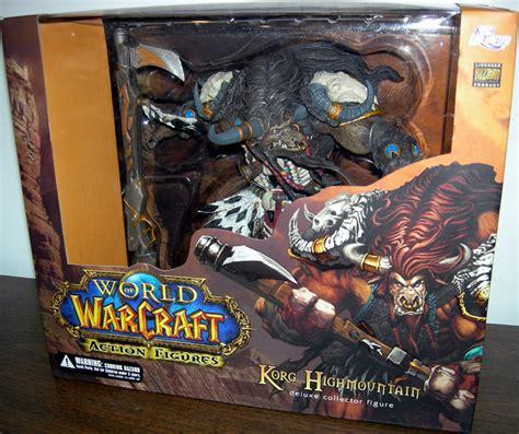03844 Figure Warcraft Figure Korg Highmountain tauren korg highmountain figure dc unlimited
