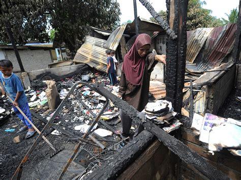 Kerang Terkini rumah terbakar ketika keluar cari kerang mynewshub
