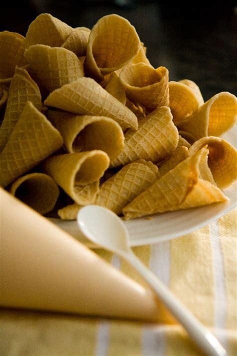 wafer cone mawar by malikah shop best 25 bread cones ideas on cornet recipe