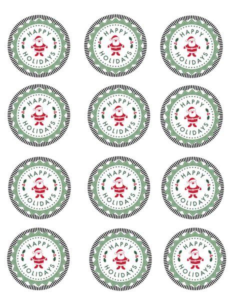 printable christmas tags for mason jars free printable happy holidays mason jar gift labels mama