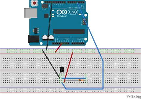 how to connect wires frederic torres connecting the temperature sensor