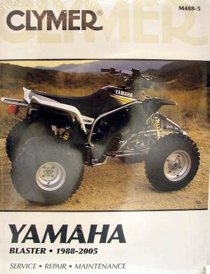 New Yamaha Atv Yfs200 200 Blaster Service Repair Manual Ebay