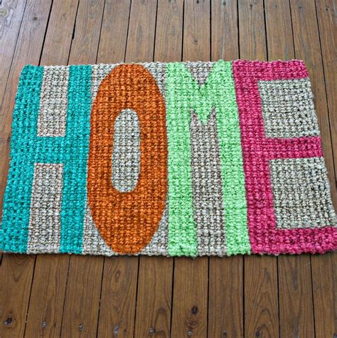 Diy Mat by Try This Update Your Welcome Mat A Beautiful Mess