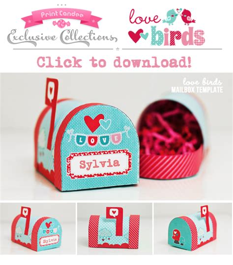 thrifty kc mama free valentines day mailbox printable