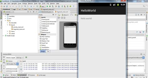 android studio run on device create emulator in android studio
