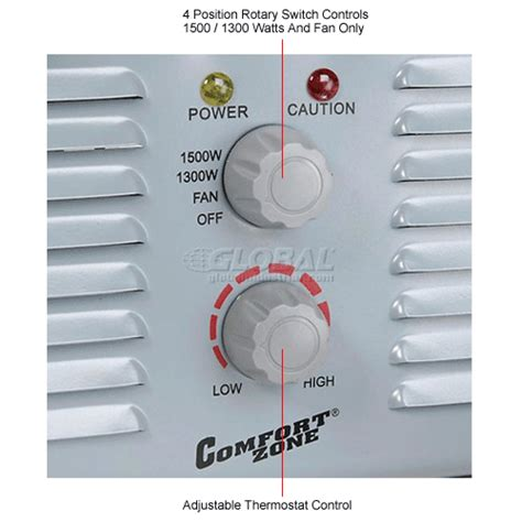 comfort zone heater parts heaters portable electric comfort zone 174 milkhouse