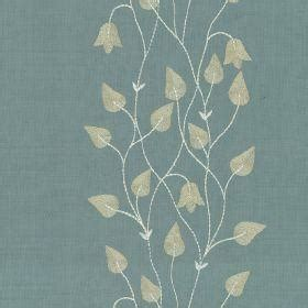 leaf pattern material climbing leaf ivory celadon opium silks fabric