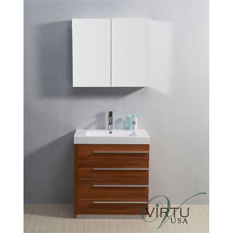 virtu bathroom accessories virtu usa 30 quot bailey single sink bathroom vanity with