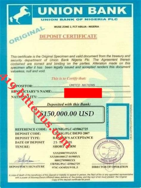 Certificate Of Deposit Letter Edward Greenwood We Are Satisfied Beyond Any Reasonable Doubt