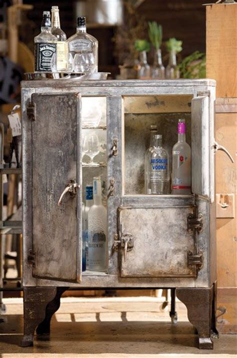 1900s home decor minibar made from early 1900s iceboxes home decor home