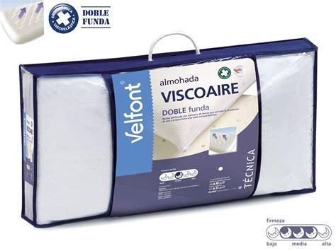 precio almohadas viscoelasticas almohada viscoelastica viscoaire de velfont
