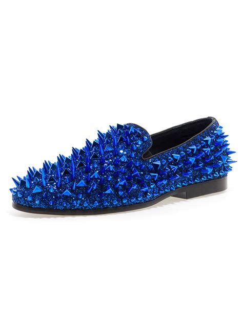 loafers with spikes jump newyork lord royal spike loafers modishonline