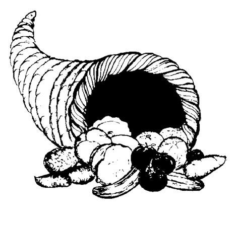 Black And White Thanksgiving Clipart black and white clip april 2010