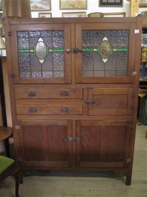 Vintage Kitchen Dresser by Vintage Leadlight Kitchen Dresser Renovating 1930s