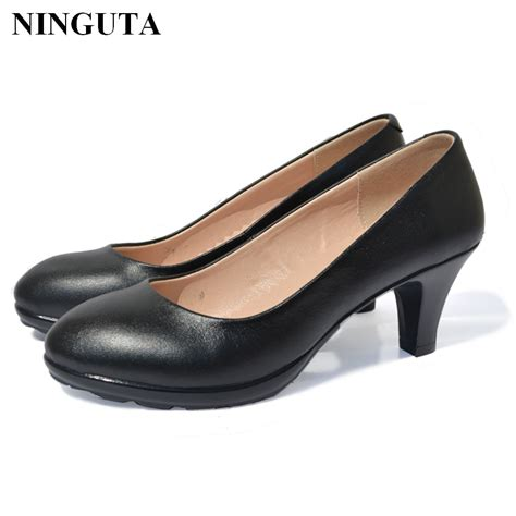 buy genuine leather women dress shoes
