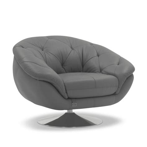 Barbie contemporary comfortable leather lounge chair zuri furniture